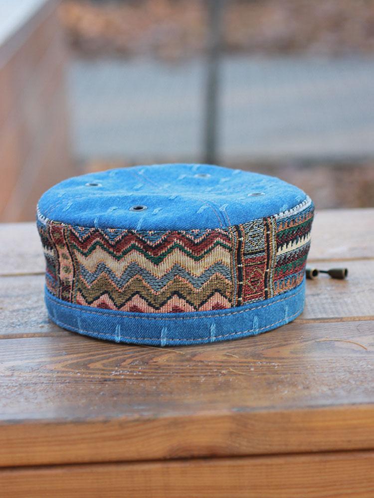 African ethnic Kufi hat skullcap Marrakesh 07 buy in Moscow - Bluggae b596992d8497