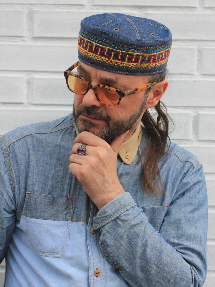 African ethnic Kufi hat skullcap Marrakesh 05 buy in Moscow - Bluggae 53256b48c5c