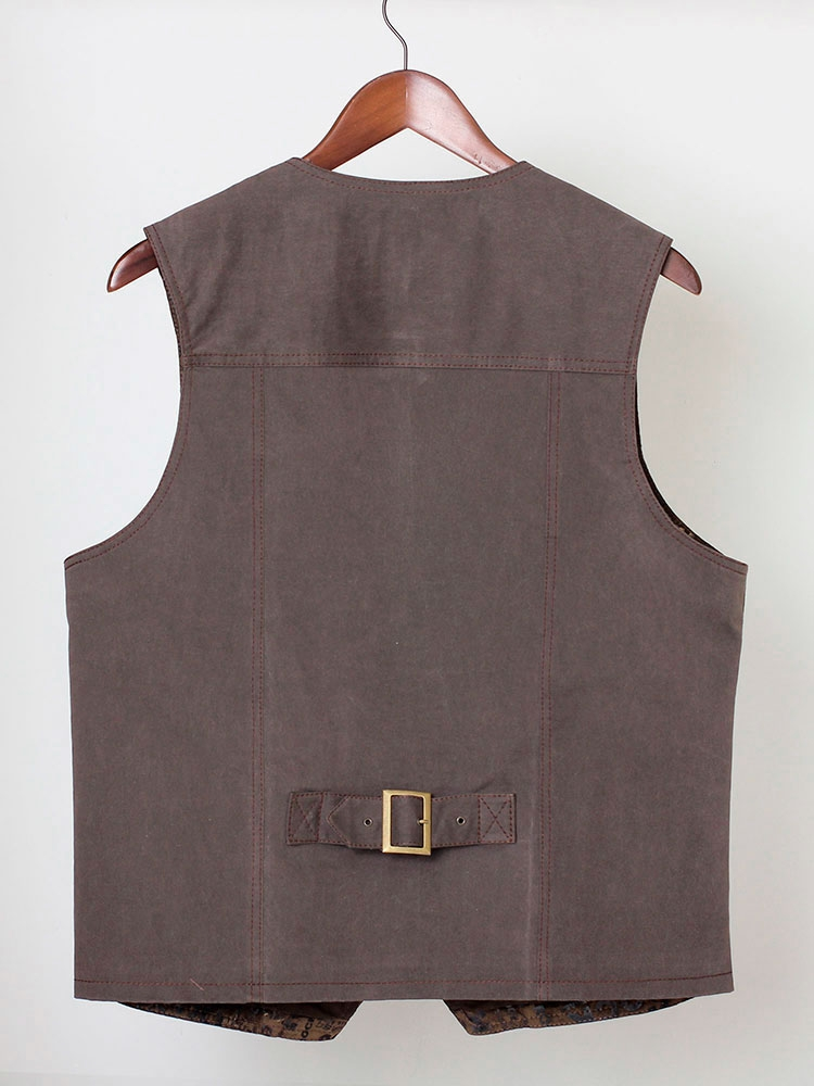 Old'n'Gold 03 men's leatherette waistcoat